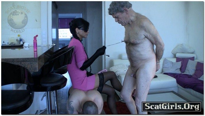 Extreme Scat Domination - Merciless scat-torture session
