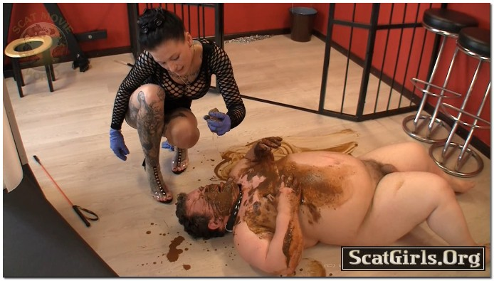 Extreme Scat Domination - My new dirty toy