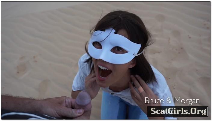 Thirsty Morgan In The Desert - BruceAndMorgan