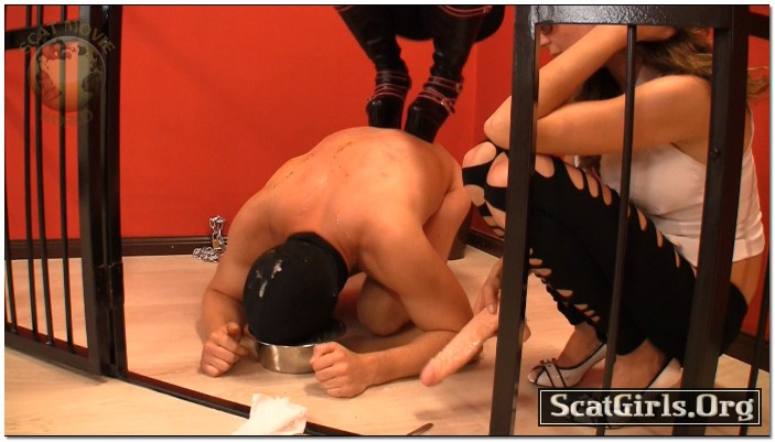 Extreme Scat Domination - Prison meal