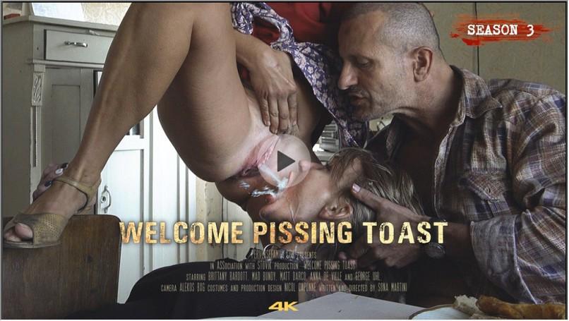 PerverseFamily.Com - Welcome Pissing Toast