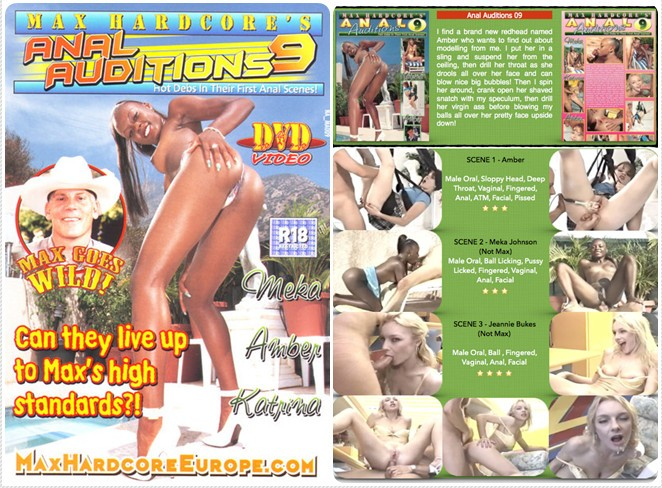 Max Hardcore\'s - Anal Auditions 9